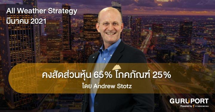 All Weather Strategy มีนาคม 2021: คงสัดส่วนหุ้น 65% โภคภัณฑ์ 25%