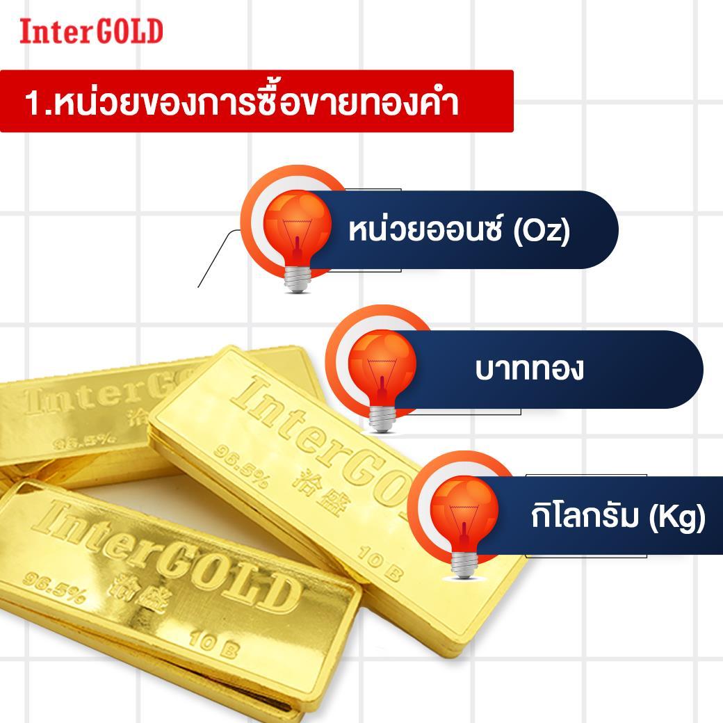 3 เรื่องต้องรู้ก่อนลงทุนทองคำแท่ง