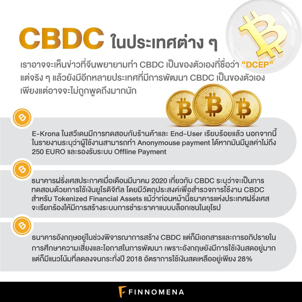 CBDC สกุลเงินดิจิทัลแห่งชาติคืออะไร? ทำไมหลายประเทศทั่วโลกถึงตื่นตัว