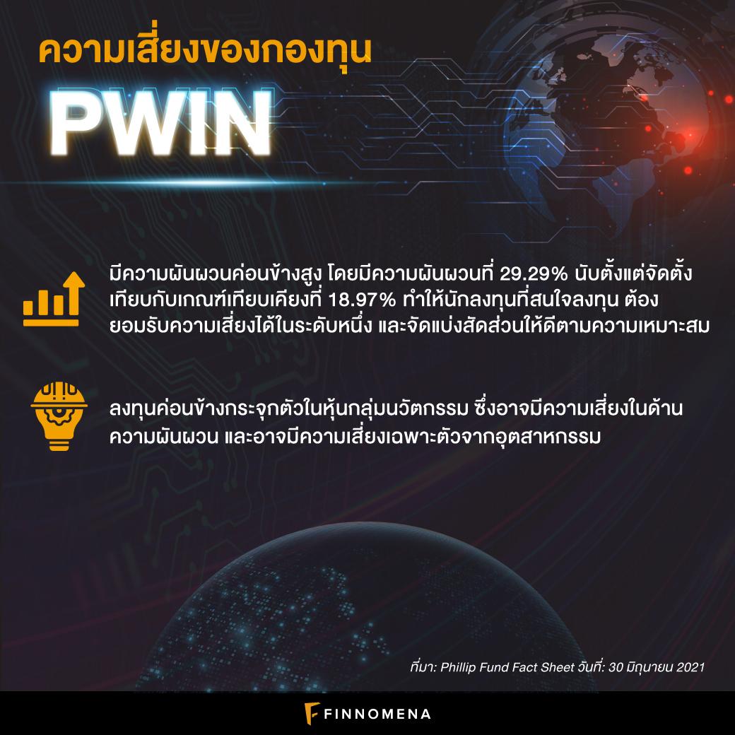 """รีวิวกองทุน PWIN: กองทุนนวัตกรรม Active เอาใจสายซิ่งแบบ """"สมดุล"""""""